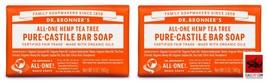 (Pack of 2) Dr. Bronner's Tea Tree Bar Soap - $20.10