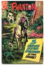 The Phantom #38 '70-CHARLTON COMIC-SKULL CAVE-JIM Aparo G - $25.22