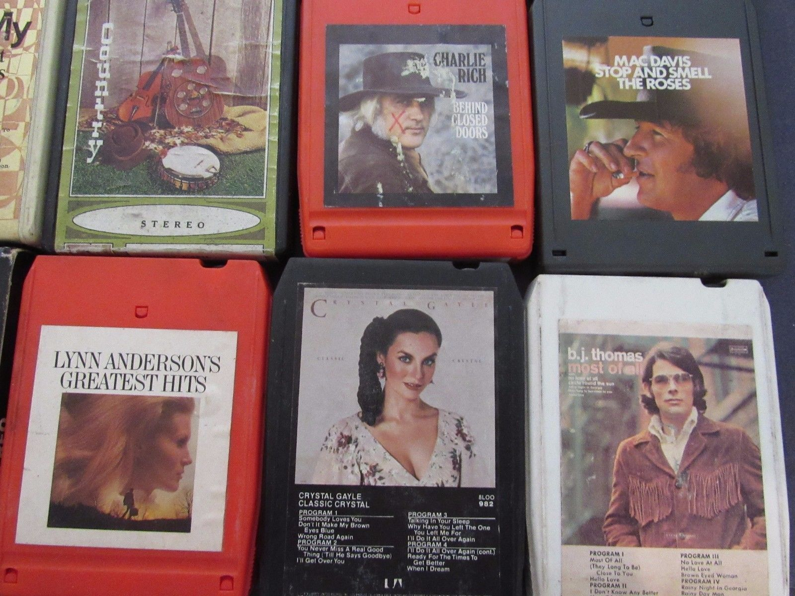 8-Track Lot 30 Country Pride Elvis Tucker Tubb Rich Whittaker Statler Brothers