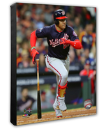 Juan Soto RBI Single Game 7 of the 2019 World Series- 16x20 Photo on Canvas - $89.99
