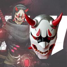 Overwatch Genji Skin Mask Helmet Halloween Cosplay Season PVC - $64.35 CAD