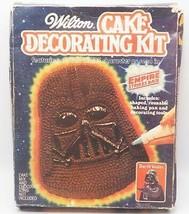 Star Wars Vintage Empire Frappes Arrière Wilton Dark Vador Gâteau Décora... - $29.58