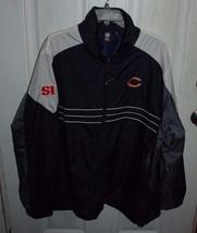 Chicago Bears NFL Windbreaker Jackets Mens XL Sports Illustrated Team Fo... - $39.95