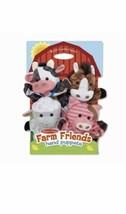 Melissa and Doug FARM FRIENDS Hand Puppets - $19.79