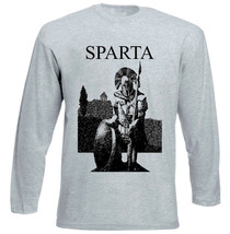 Spartan Warrior Sparta - New Cotton Grey Tshirt - $20.84
