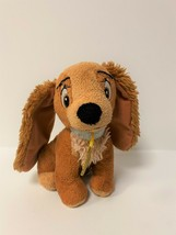 "Disney Just Play Lady & the Tramp 7"" Plush Lady Cocker Spaniel Stuffed Toy - $9.50"
