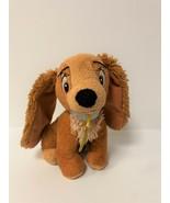 "Disney Just Play Lady & the Tramp 7"" Plush Lady Cocker Spaniel Stuffed Toy - $9.50"