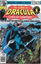 The Tomb of Dracula Comic Book #68, Marvel Comics 1979 NEAR MINT - $27.01