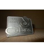 Brass Cobra Cb Radio Belt Buckle By Lewis Belt Buckle Chicago ~ - $21.49