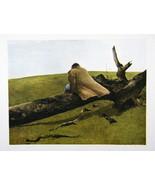 Andrew Wyeth Gravure Print ADAM & APRIL WIND, Pennsylvania - $15.84
