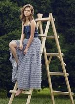 Full Layered Tulle Skirt Gray Long Tulle Skirt Wedding Skirt Outfit image 2