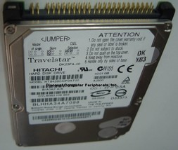 40GB 2.5in 9.5MM IDE 44PIN Drive Hitachi DK23FA-40 HTS428040F9AT00 Free USA Ship