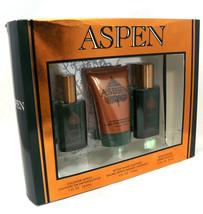 Aspen Gift Set for Men After shave 1.7 oz After Shave Balm 4 oz & Cologne 1 oz - $56.42