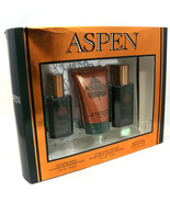Aspen Gift Set for Men After shave 1.7 oz After Shave Balm 4 oz & Cologn... - $56.42