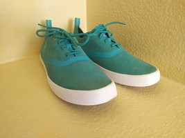 Mens Sperry Top Sider Green Sneaker Size 10.5 M Men's - $39.60