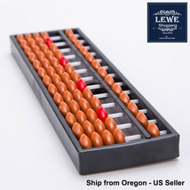 Premium Abacus 13 Digit Rods Standard Chinese Soroban Japanese Math Calc... - $5.69