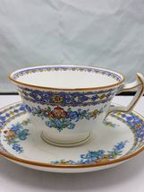 Minton Luxor  cup and saucer bone china England  - $16.99
