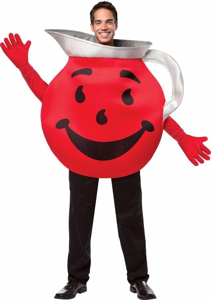 Kool Aid Adult Costume Tunic Drink Food Halloween Party Unique Cheap GC4447