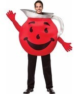 Kool Aid Adult Costume Tunic Drink Food Halloween Party Unique Cheap GC4447 - £49.39 GBP