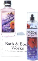 Bath & Body Works French Lavender & Honey Shower Gel & Body Mist Gift Se... - $23.27