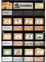 NEATLINGS Chore Chart System | 1 Child | 80+ Chore | Teal & Orange Cards image 6