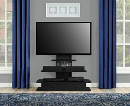 "Ameriwood Home Galaxy Flat TV Stand w/ Mount & Drawers for TVs up to 70""... - $211.85"