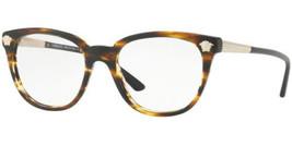 Authentic Versace Eyeglasses VE3242 5202 Havana Frames 54mm Rx-ABLE - $138.59