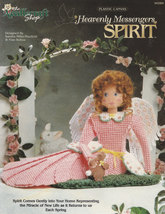 Heavenly Messengers Spirit Angel Centerpiece, Plastic Canvas Pattern TNS... - $3.95