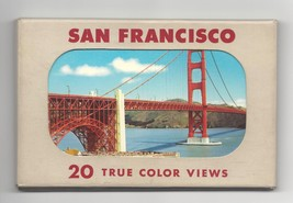 San Francisco 20 True Color Views Vintage E F Clements Postcards in Packet - $9.95