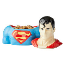 "10.5"" High DC Comic Superman Cookie Jar Stoneware image 3"