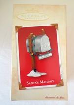 Santa's Mailbox ~2002 Hallmark Keepsake Christmas Ornament~Notepaper For... - $13.46