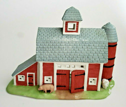 Meadow Brook Farm Tealight Candle Holder Holiday Village PartyLite P0493... - $16.78