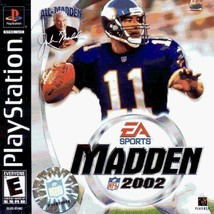 Madden 2002 PS1 Disc Only Tested - $5.97