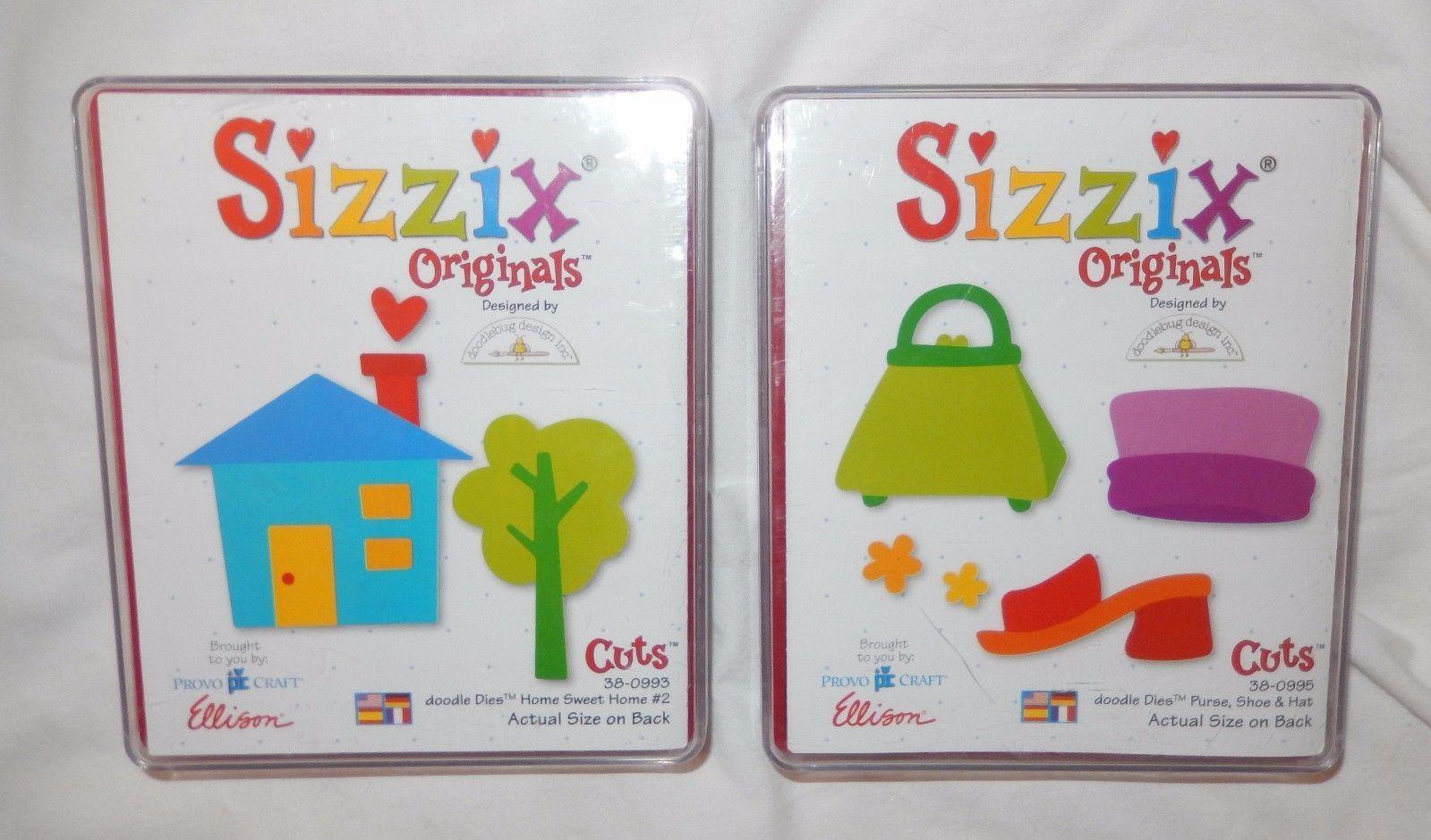 Sizzix Originals Home Sweet Home #3 ~ Craft Die Cutter