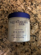 AQUATANICA SPA Relaxing Sea Soak Marine Nutrient Complex 9oz Bath Body W... - $127.71