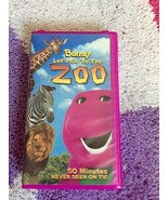 Barney Let's Go To The ZOO  50 Minutes Never Seen On TV VHS Barney's Zoo... - $49.99