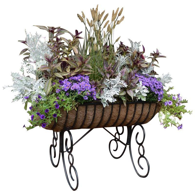 Cradle Free Standing Planter with Coco Liner