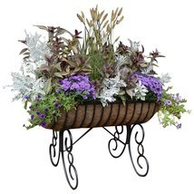 Cradle Free Standing Planter with Coco Liner - $81.82 CAD+