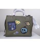 New Coach X-Disneys Dark Fairy Tales Snow White Rogue 25 Army Green Handbag - $394.02