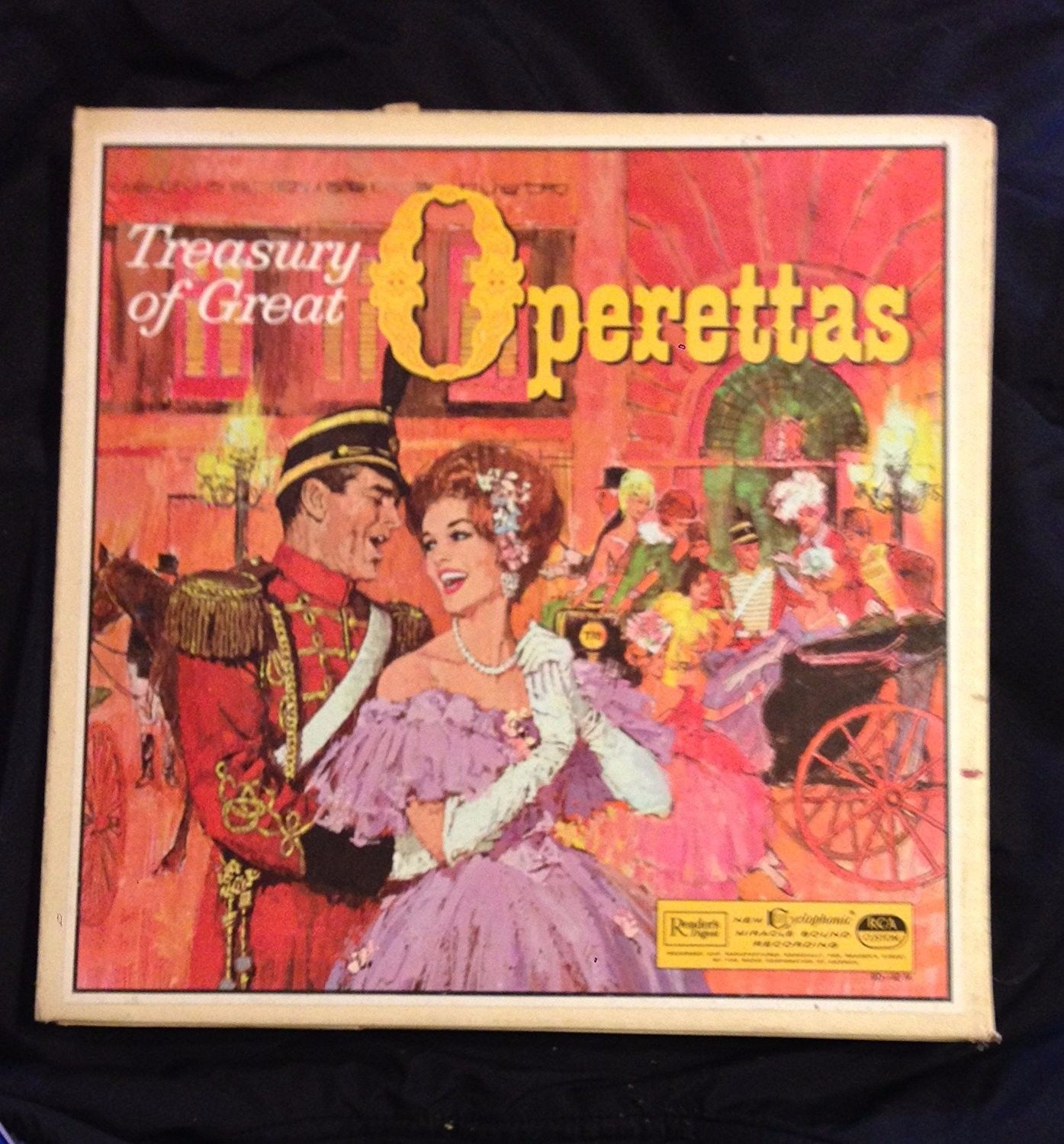 Treasury of great Operettas, vinyl records by RCA