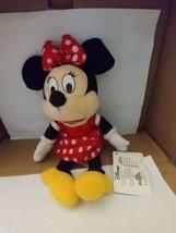 "Disney Minnie Mouse Bean Bag Plush 9"" Toy Factory - $5.00"