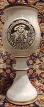 Rare DENEEN pottery chalice Texas Renaissance Festival 1985 mint - $37.36