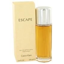 Escape By Calvin Klein For Women 100 ml / 3.4 oz EDP Spray - $24.98