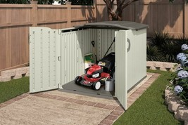 Large Garden Shed Patio Yard Horizontal Utility Tool Storage Organizer C... - $705.99