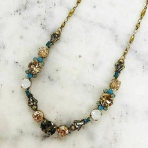 Sorrelli Light Colorado Crystal and Turquoise Necklace - $98.01