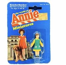 Little Orphan Annie miniature toy figure knickerbocker 1982 moc Molly Gi... - $29.65