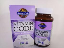 Garden of Life Vitamin Code Raw Prenatal 90 Vegetarian Capsules {VS-G} - $33.66