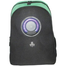 3Eye 3EYE-GREEN Backpack with Bluetooth Speaker (Green) - $119.15 CAD