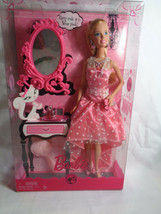 Barbie 2008 Mattel Color Your World PINK Party Dress - New Boxed - $18.76