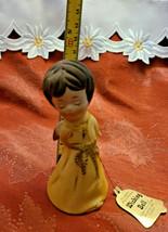 Vintage 1978 • Jasco • Angel Wishing Bell • Fine Bisque Porcelain • Handcrafted image 2